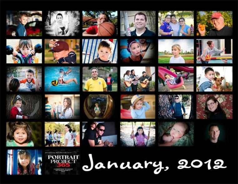 Portrait Project 365 January 2012