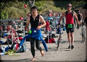 Transition Swim to Bike